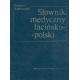 Słownik medyczny łacińsko-polski