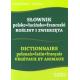 Słownik polsko-łacińsko-francuski. Rośliny i zwierzęta