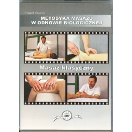 Masaż klasyczny (DVD) Metodyka masażu w odnowie biologicznej