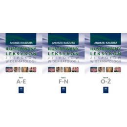 Ilustrowany leksykon zespołów w dermatologii t.1-3