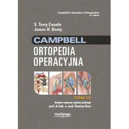 ORTOPEDIA OPERACYJNA CAMPBELL t.4 Canale,Beaty