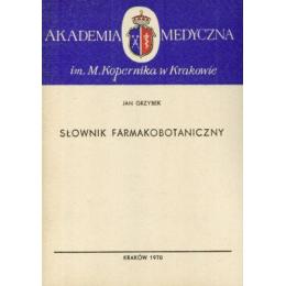 Słownik farmakobotaniczny