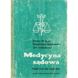 Medycyna sądowa Podręcznik dla studentów