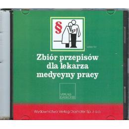 Zbiór przepisów dla lekarza medycyny pracy (CD)