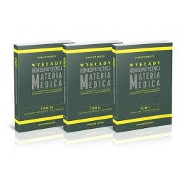 """Wyk³ady homeopatycznej Materia Medica wraz z """"Nowymi lekami"""" Kenta, po³¹czone i przedstawione w ukladzie alfabetycznym"""
