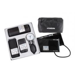 Ciśnieniomierz zegarowy - HS GF-301 (z 3 mankietami)