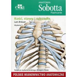 Anatomia Sobotta flashcards KOŚCI, STAWY, WIĘZADŁA (pol)