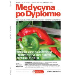 Medycyna po Dyplomie pojedynczy zeszyt  (Dostępny tylko w ramach prenumeraty po uzgodnieniu z Księgarnią)