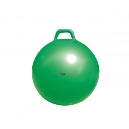 Piłka rehabilitacyjna z uchem - Hopper 55cm (zielona)
