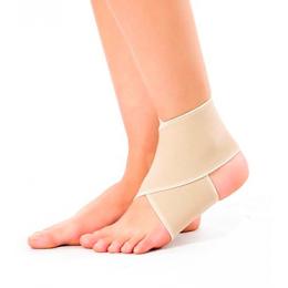 Opaska elastyczna stawu skokowego - taśma na rzep (M)