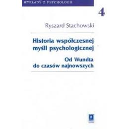 Historia współczesnej myśli psychologicznej Od Wundta do czasów najnowszych