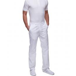 Spodnie męskie - klasyczne z kieszeniami   7612 elanob. W