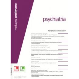 Medycyna Praktyczna - Psychiatria pojedynczy zeszyt  (Dostępny tylko w ramach prenumeraty po uzgodnieniu z Księgarnią)