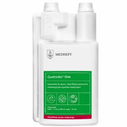 Koncentrat to dezynfekcji nieinwazyjnych wyrobów medycznych - Quatrodes One, 1 L