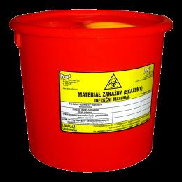 Pojemnik na zużyte materiały medyczne - 10 L
