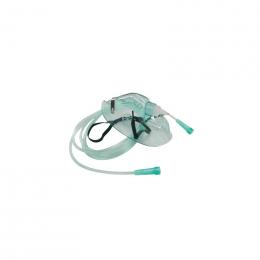 Maska tlenowa dla dorosłych z przewodem (XL)
