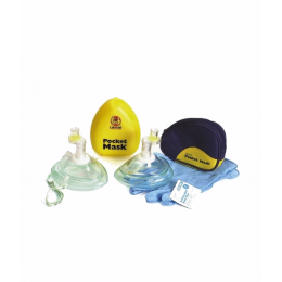 Maska kieszonkowa do resuscytacji - Pocket Mask (miękkie etui)