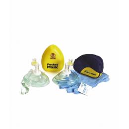 Maska kieszonkowa do resuscytacji - Pocket Mask (sztywne etui)