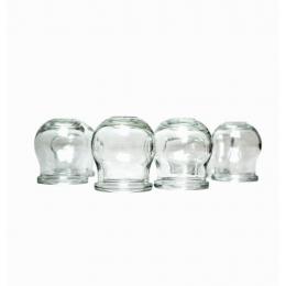Bańki bezogniowe szklane z pompką
