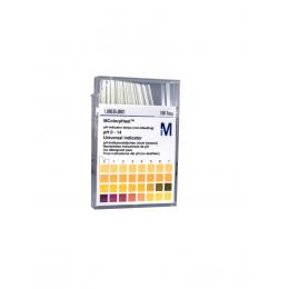 Papierki wskaźnikowe - MColorHast pH 0-14  (100szt)