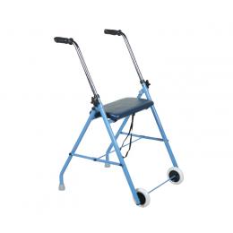 Balkonik 2-kołowy z siedziskiem - AR020