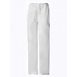 Spodnie damskie i męskie - Cargo U, białe
