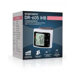 Ciśnieniomierz elektroniczny - nadgarstkowy dr-605 IHB
