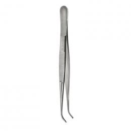 Pinceta anatomiczna wąska - 125 mm (zagięta)