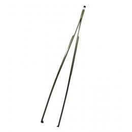 Pinceta chirurgiczna z ząbkami 2x3 -  160 mm