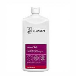 Płyn do dezynfekcji rąk - Velodes Soft, 1 L