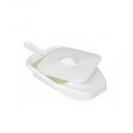 Basen sanitarny - płaski z przykrywką