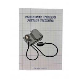 Dzienniczek do zapisywania wyników pomiarów ciśnienia (A6)