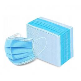 Maseczka jednorazowa - higieniczna na gumki 50szt
