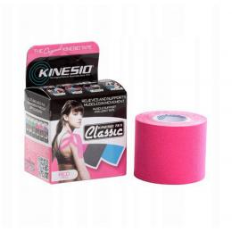 Taśma Kinesio Tape Classic - 5cm x 4m (różowa)