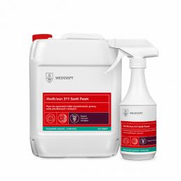 Pianka do mycia sanitariatów - Mediclean 311 Sanit Foam (czarne winogrona), 0,5L