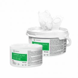 Chusteczki do nasączania preparatem - Dry Wipes Box (100 szt)