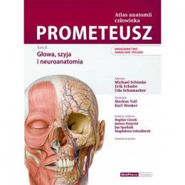 Prometeusz Atlas anatomii człowieka t.3 ang/pol   Głowa,szyja i neuroanatomia