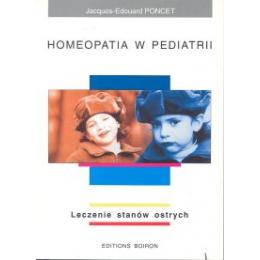 Homeopatia w pediatrii Leczenie stanów ostrych