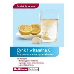 Cynk i witamina C Połączenie sił w walce w przeziębieniem